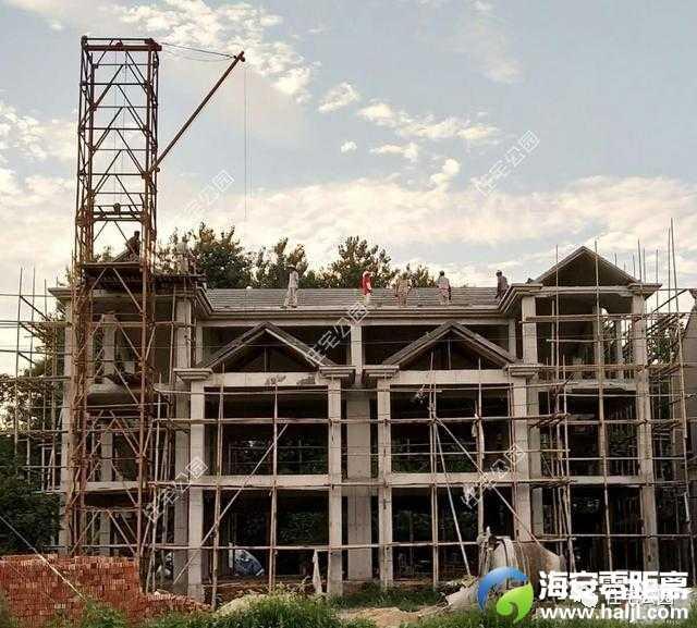 江苏价格共建3层双拼框架,全兄弟别墅730每平花园别墅波特兰二手图片